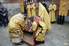 97. The Laying of the Foundation Stone of the Church of Saints Cyril and Methodius / Закладка храма святых Мефодия и Кирилла 09.10.2016