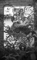 Dutch Weed Burger (Arne Kuilman) Tags: akarelle xenon 50mm ilford panf iso50 manual amsterdam nederland netherlands dutchweedburger burger weed marihuana sign