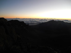Sunrise on Haleakala (jimmywayne) Tags: sunrise hawaii maui mauicounty haleakala nationalpark crater volcano