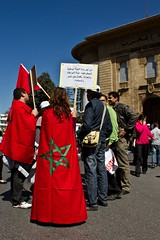 Manif 20 mars 2011 (cafard cosmique) Tags: africa photography photo foto image northafrica morocco maroc maghreb marruecos marokko manif manifestation rabat marrocos afrique afriquedunord المغرب 20mars2011