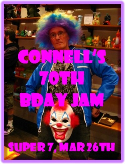 Connells 70th bday Jam