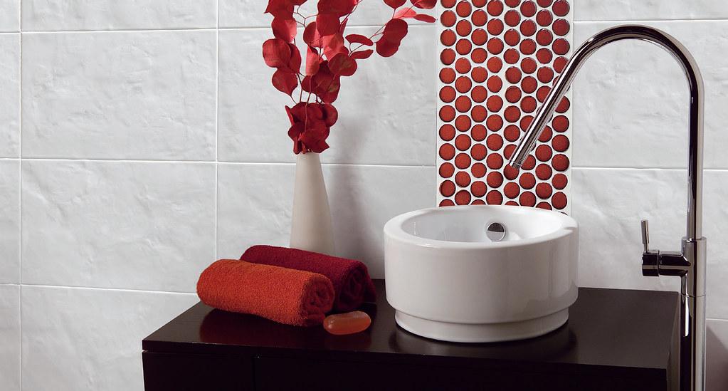 Bathroom Gobi white series