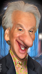 Bill Maher - Caricature
