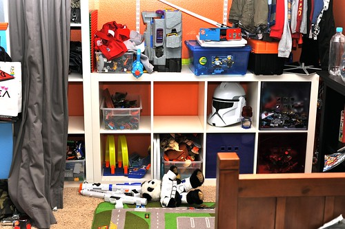 Angry Kid's Closet Before