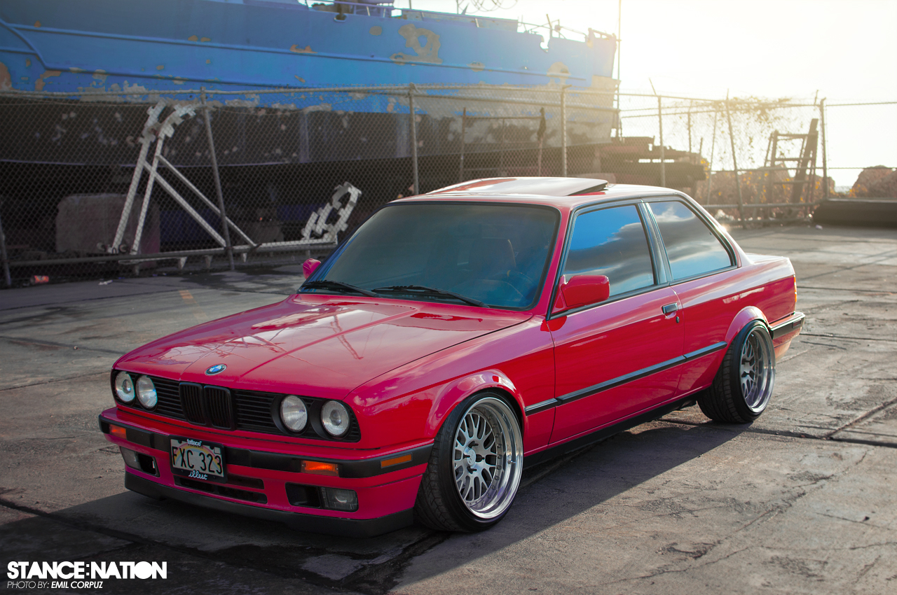 Bmw E30 Coupe Flush >> CCW x BMW E30 | StanceNation™ // Form > Function