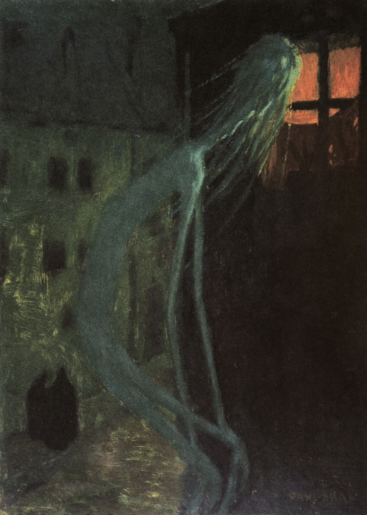Jaroslav Panuška - Spirit of the Dead Mother, 1900