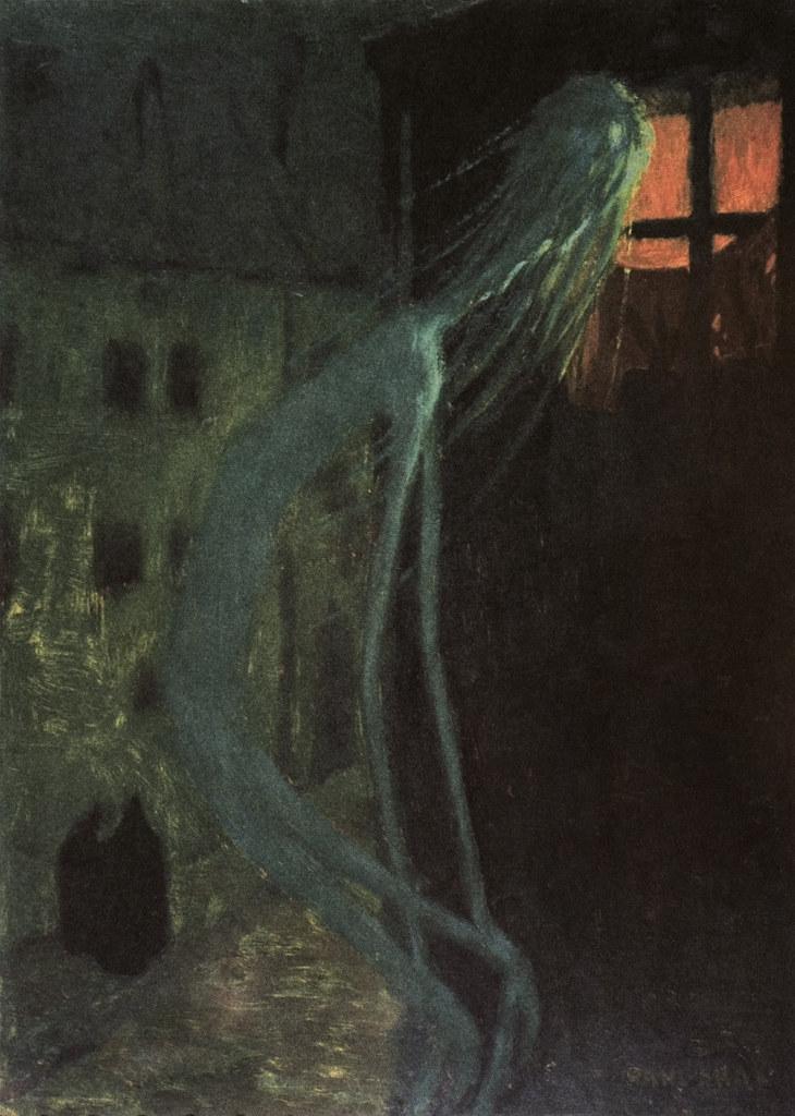 Jaroslav Panuška - Spirit of the Dead Mother, 1900