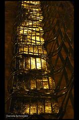 Gold (Daniela Schneider) Tags: light reflection luz golden licht chair dourado noturna reflexo spiegelung nocturne stuhl cadeira iluminao danielaschneider