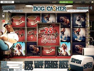 free Dog Casher slot mini symbols