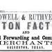 Powell & Ruthven advertisement in the Texas Almanac