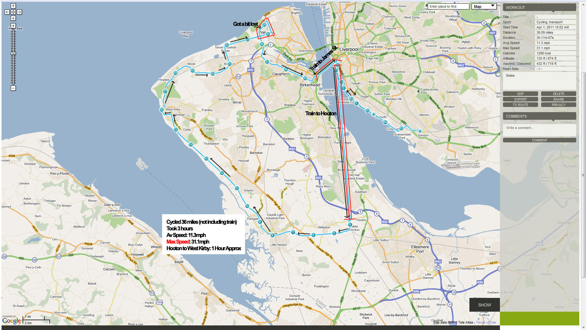 Cycling The Wirral Again 36 Miles Garston Hooton Wirral Way