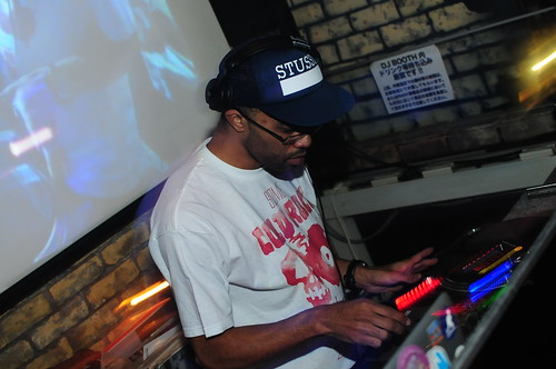 2011/04/02(sat) STUSSY & STONES THROW presents  J.ROCC @JB'S