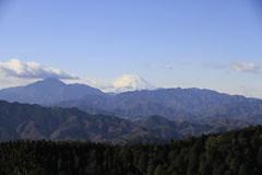 一丁平の富士山