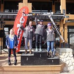 Miele Panorama Spring Series - Ladies Slalom #1 - Overall Podium and Most Improved PHOTO CREDIT: Gregor Druzina