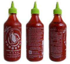 Sriracha met citroengras