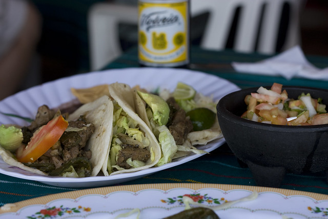 Steak Tacos in Tulum