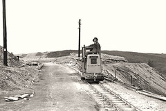 Narrow gauge at Darlington (Lost-Albion) Tags: industry blackwhite pentax darlington waste tipping narrowgauge codurham rustonhornsby chemicalinsulating rh47612462