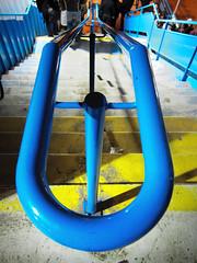 Vertige (philoufr) Tags: paris station stairs escalier sncf garesaintlazare canonpowershots90