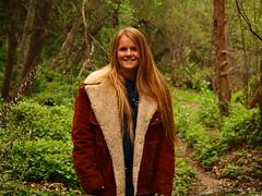 Little girl in a giant coat (Sean Draper) Tags: mountain river san diego olympus rey luis palomar 76 ep2 40150mm