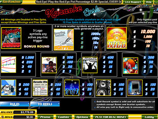 free Karaoke Cash slot mini symbol