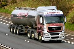MAN-CARNTYNE TRANSPORT Glasgow Scotland (scotrailm 63A) Tags: trucks tankers lorries