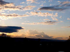 2011-04-07 April Sunset (Mary Wardell) Tags: blue sunset clouds oregon canon portland gold april g11