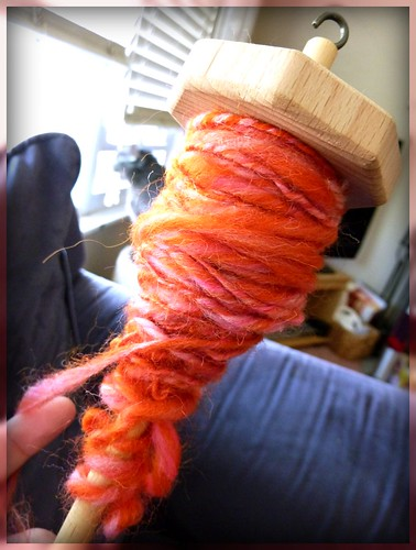 I'm making yarn!