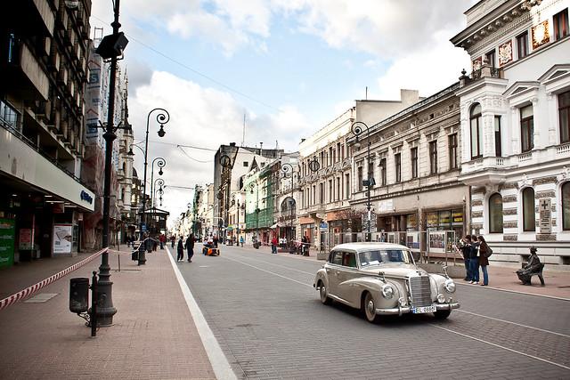 regaty ulicy Piotrkowskiej