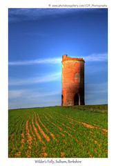 Wilder's Folly (Sulham Dove Tower) (_Gingerbeard_) Tags: berkshire hdr sulham canoneos50d canonef24105l wildersfolly nunhidewoods nunhidetower sulhampigeontower sulhamdovetower