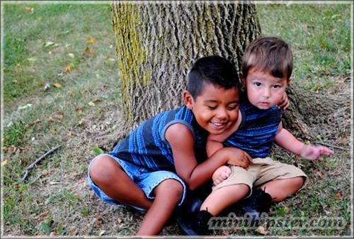 Jordan and James... MiniHipster.com: kids street fashion (mini hipster .com)