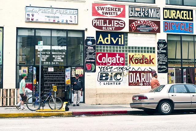 Los Angeles, carteles