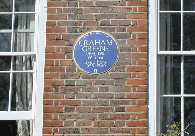 Graham Greene lived here!