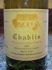 2007 Hervé AZO Chablis