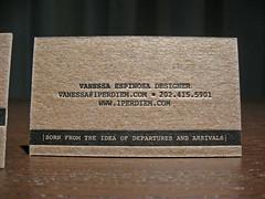 1 per diem letterpress cards
