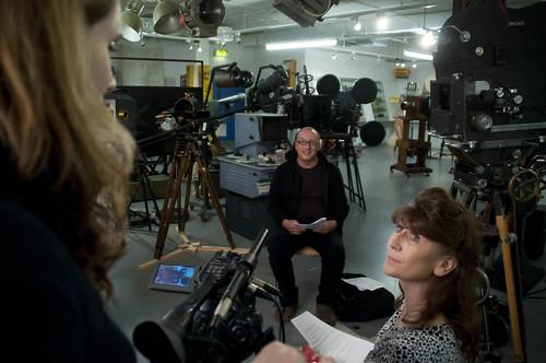 Filming David Spero