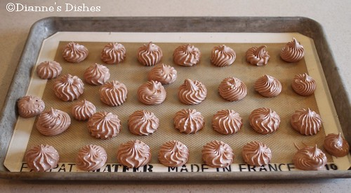 Salted Chocolate Meringues: Ready to Bake