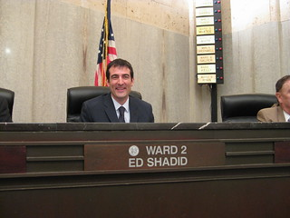 Ward 2 City Councilor Ed Shadid