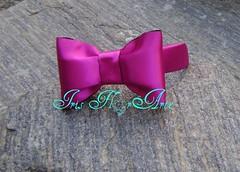 Tiara em lao Rosa de cetim (Iris Florarte) Tags: tiara handmade artesanato artesanal rosa arco cetim acessrio feitoamo casquete