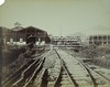 Spoorbaan op plantage Mariënburg (Stichting Surinaams Museum) Tags: fabriek suriname plantage marienburg spoorbaan commewijnerivier