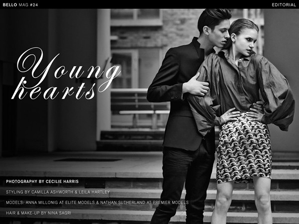 "Bello Mag Editorial ""Young Hearts"""