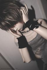 Stop the frustration (KyoyaxL) Tags: boy cute ball asian doll dolls depression depressed bjd ho elijah abjd jointed yeon crobidoll