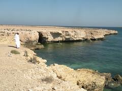 Fins Cliffs (twiga_swala) Tags: ocean sea beach golf landscape coast scenery gulf indian cliffs east coastal sur arabian middle peninsula oman fins  sultanate