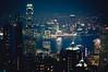 The view at night (MMortAH) Tags: china hk night buildings hongkong 50mm nikon cityscape view harbour 14 peak victoria explore nikkor kowloon d90