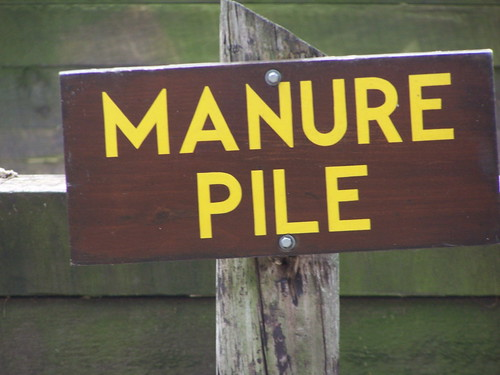 Manure Pile Sign