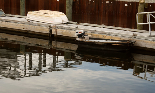 Skiff Reflections