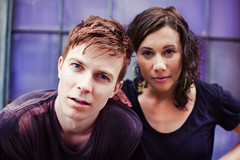 Matt & Kim (Jeremy Snell) Tags: matt hawaii daylight purple kim cameras honolulu mattkim mattandkim jeremysnell