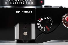 Leica MP w/ Voigtlnder Nokton 35mm f/1.4 (PH Pictorials) Tags: camera leica macro film 35mm germany studio mechanical f14 voigtlander rangefinder 100mm equipment mp product gears nokton rf 1dmii