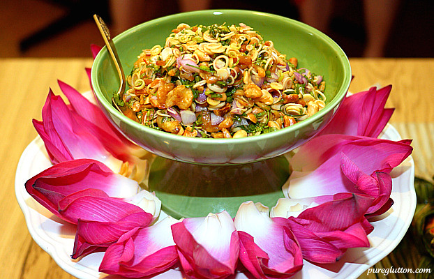 lotus flower salad1