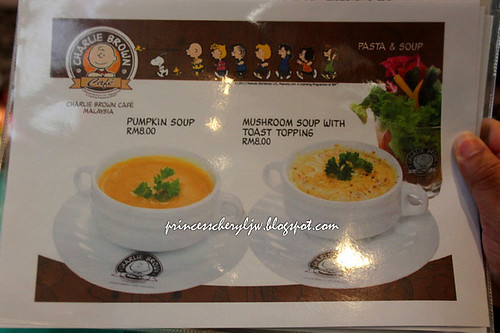 Charlie Brown Cafe - menu 03