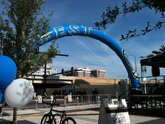 Fan Fest outside Amway Center (msnguy81) Tags: city orlando florida magic cityscapes nba downtownorlando orlandomagic centralflorida orlandoflorida nbabasketball amwaycenter